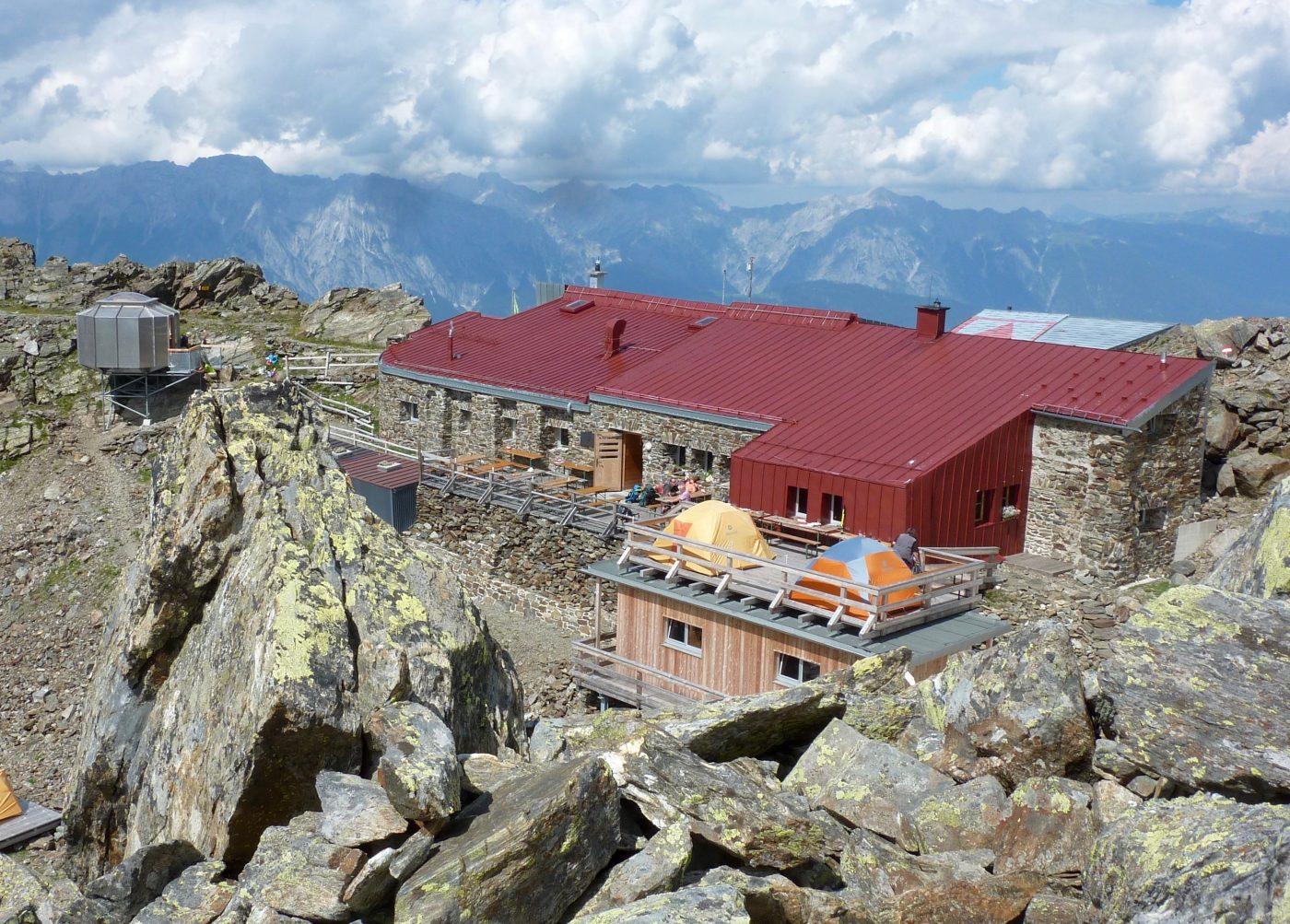 Glungezerhütte Biwag 2