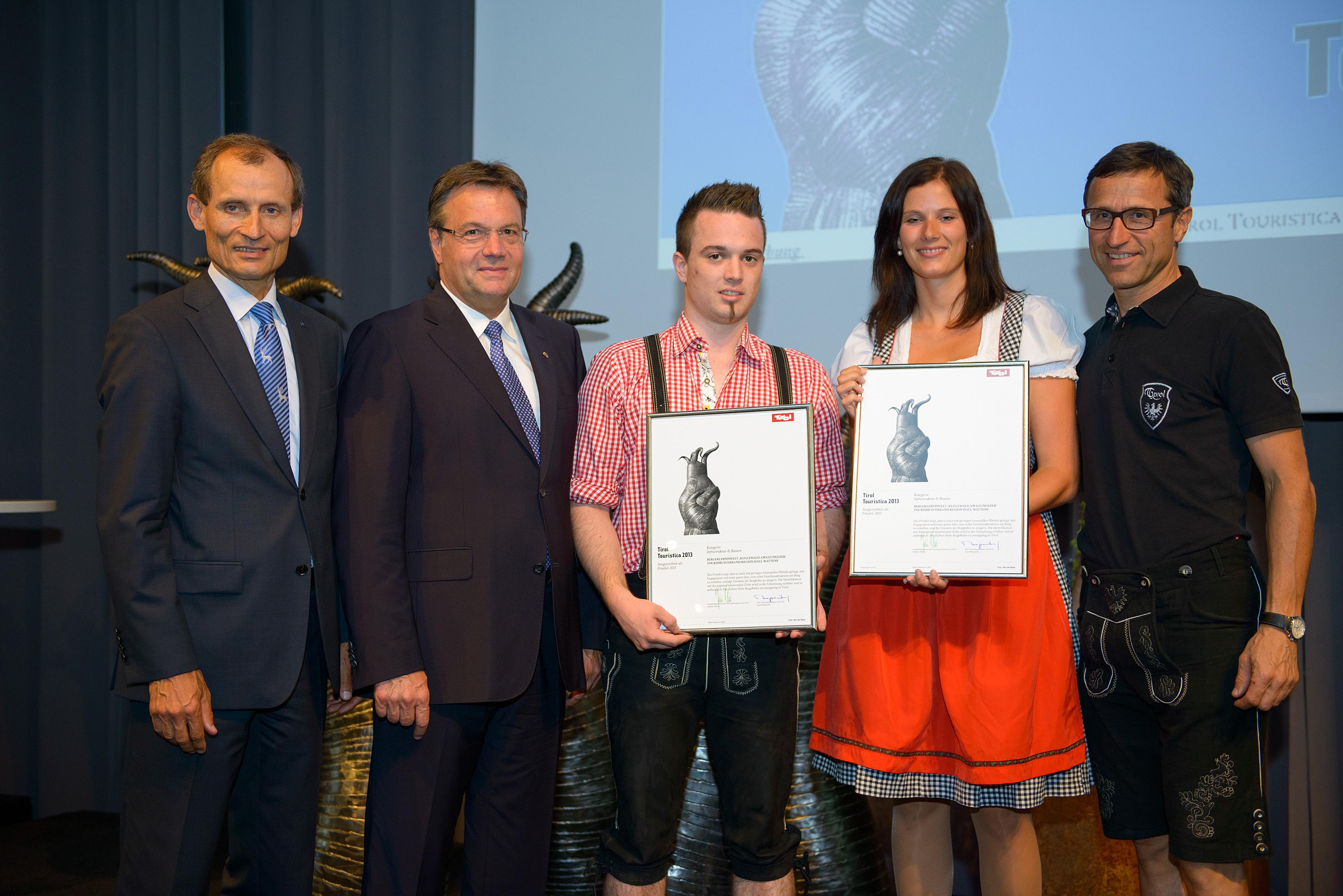 Verleihung Anerkennungspreis (c)Tirol Werbung