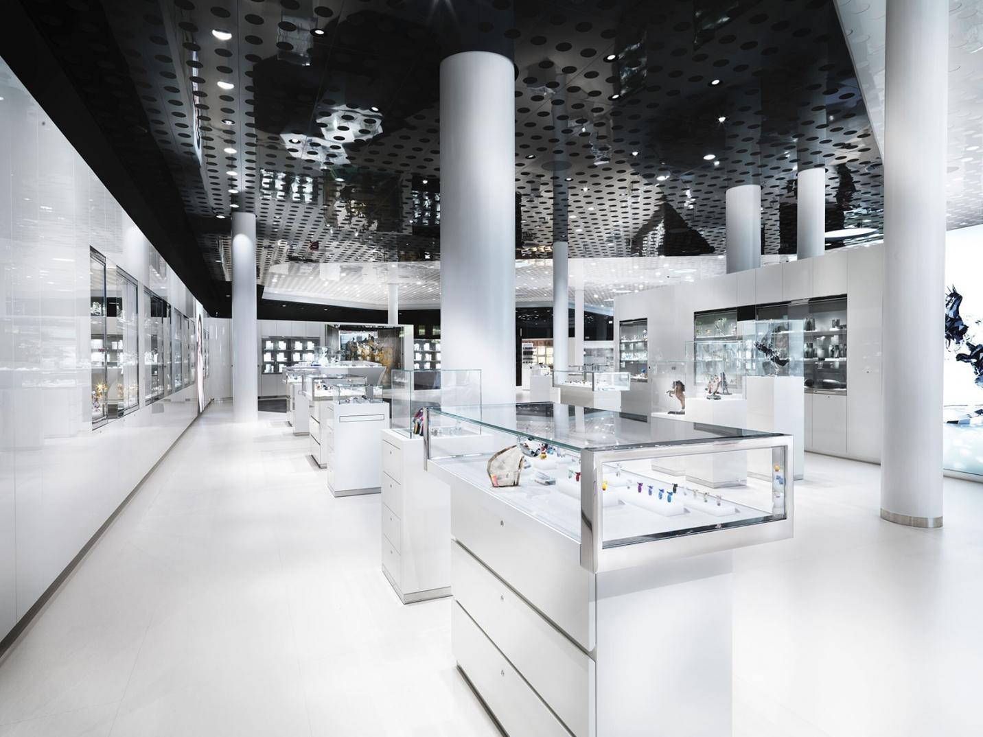 Swarovski Store in den Swarovski Kristallwelten in Wattens