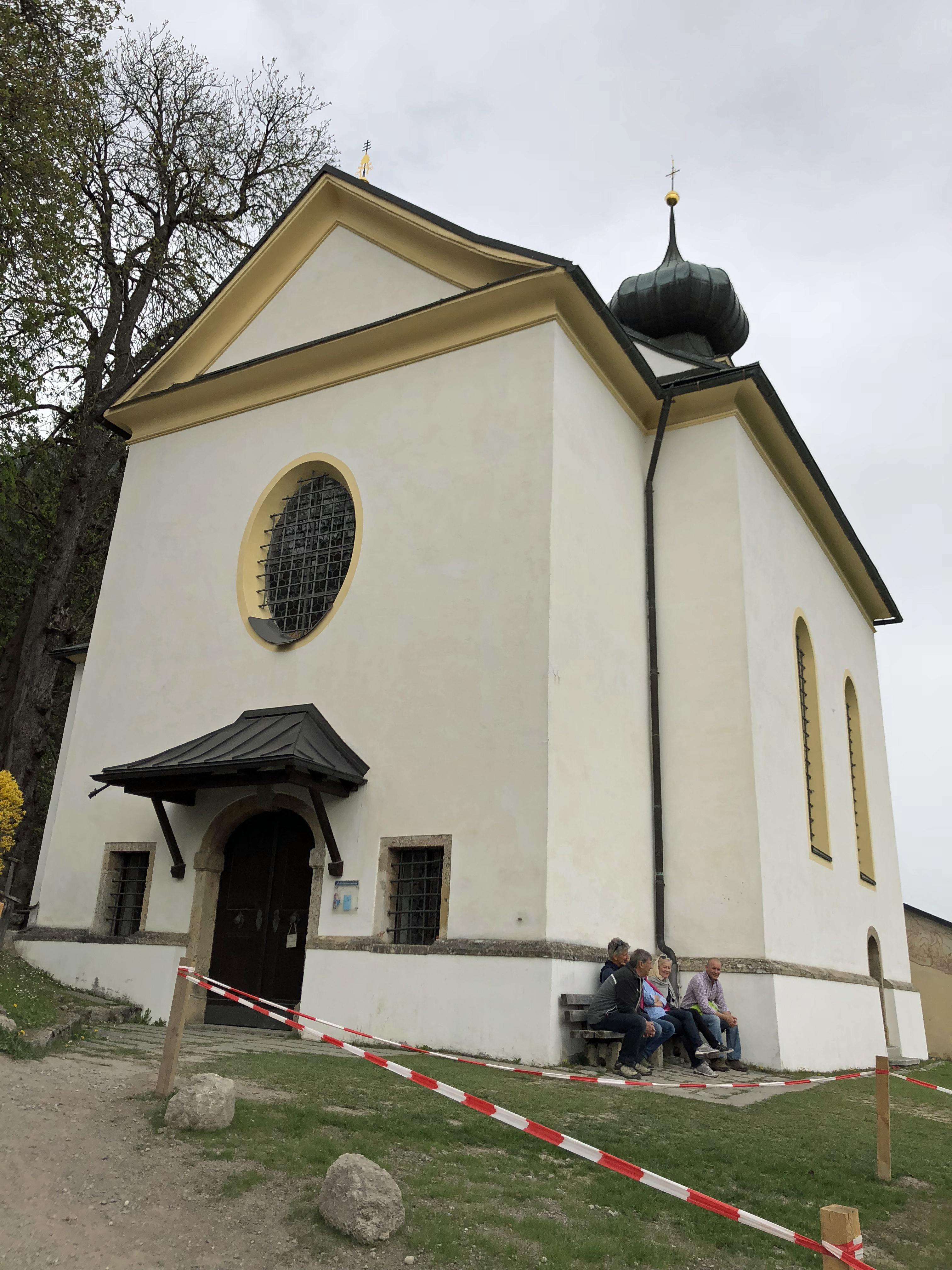 Romedius Kapelle aussen