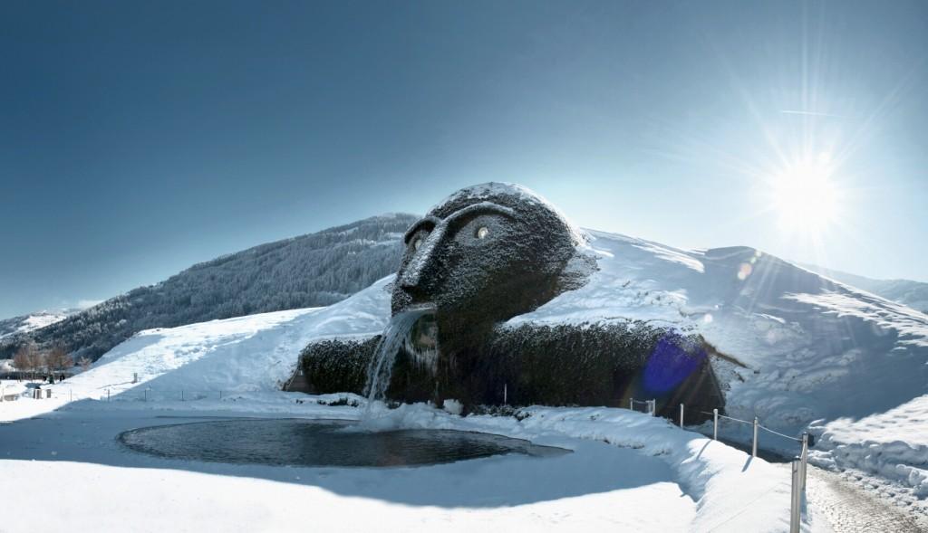 Swarovski Kristallwelten Riese Winter